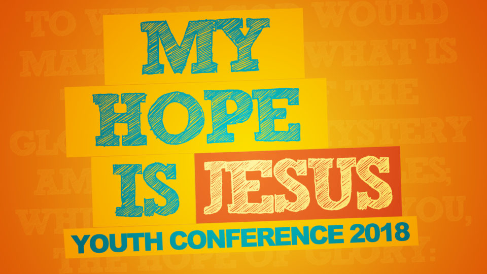 2018 Youth Conference Banner